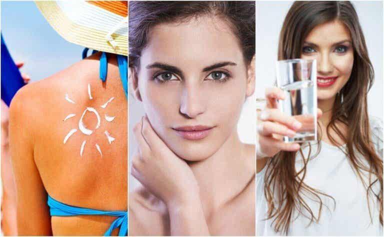 6 tapaa ehkäistä ihon ennenaikaista ikääntymistä