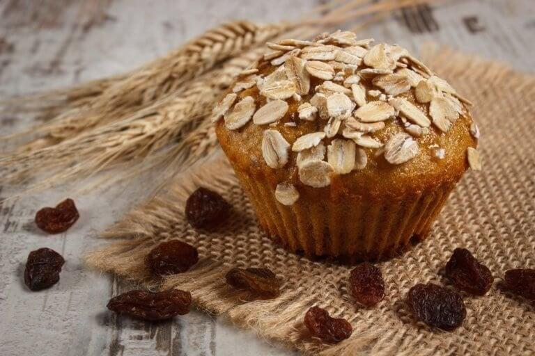 Gluteenittomat ja laktoosittomat kauramuffinssit