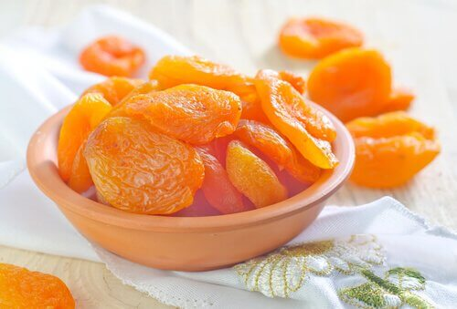 kuivatut aprikoosit
