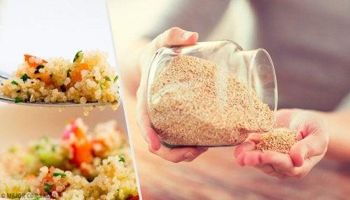 Hyviä syitä alkaa syödä kvinoaa