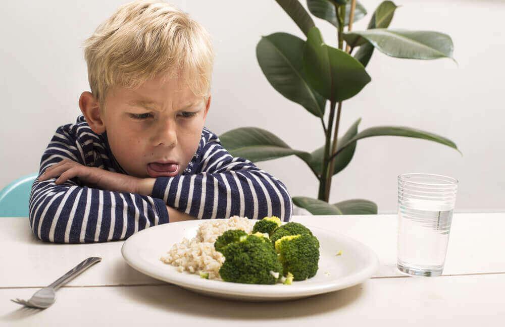 Lapselle ei maistu parsakaali