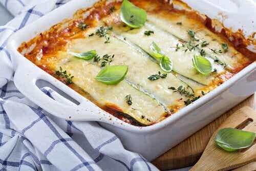 Lasagne ilman pastaa