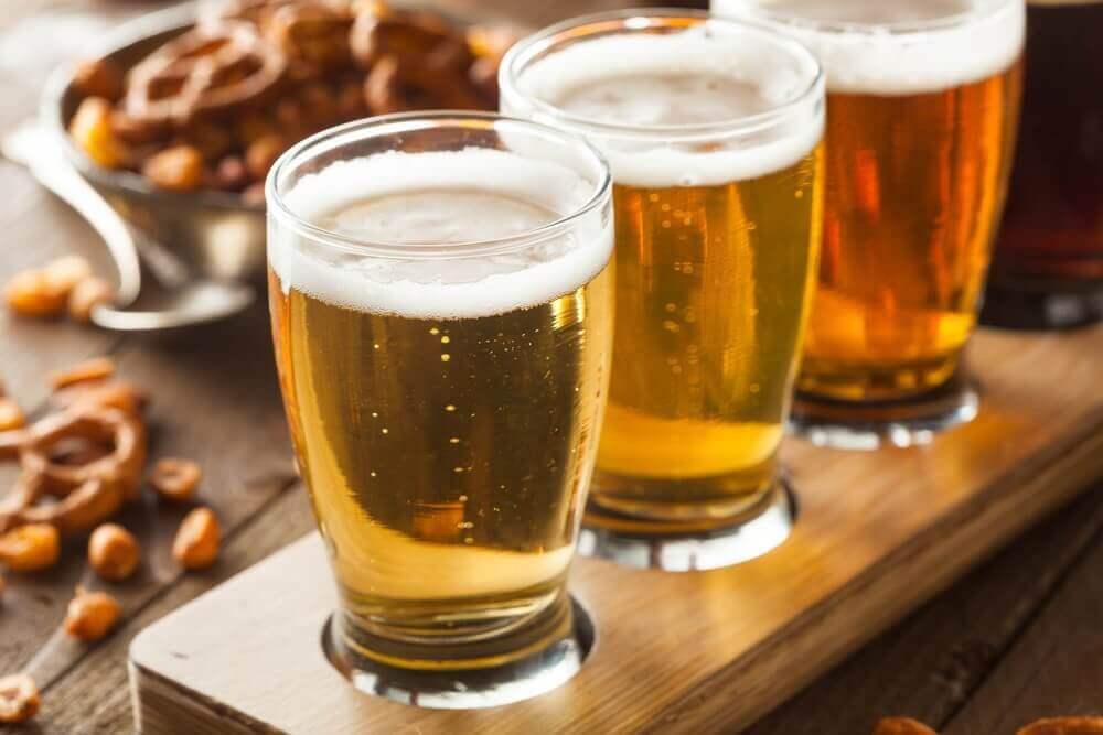 olutta rivissä