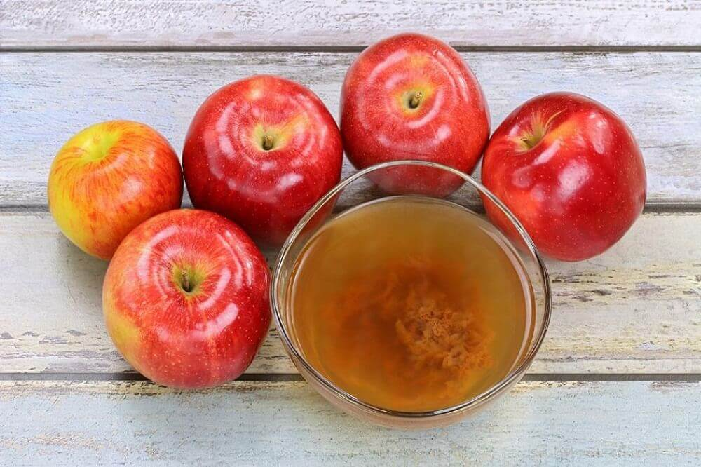 aknearpien häivyttäminen omenaviinietikalla