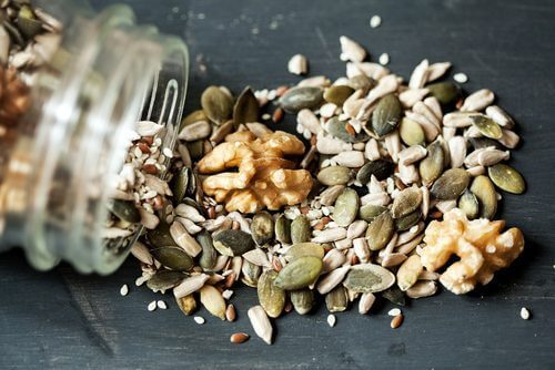 siemenet ja pähkinät