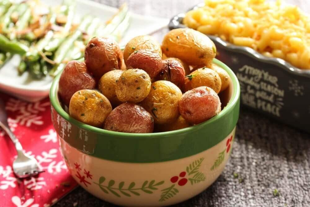 Keskikokoiset perunat ovat paras valinta kemikaalien välttämiseksi