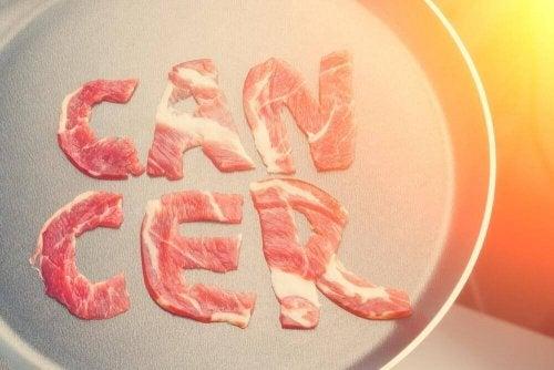 Punaisen lihan yhteys syövän syntyyn