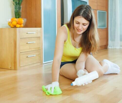 Ekologisten puhdistusaineiden käyttö parantaa myös omaa terveyttä