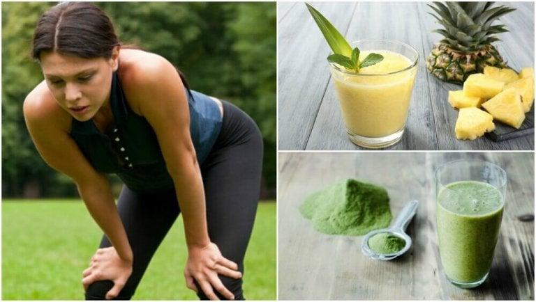 Smoothieita lihasväsymykseen: 5 vaihtoehtoa