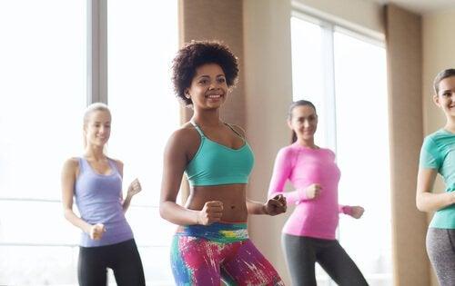 aerobinen tanssi on loistava liikuntamuoto