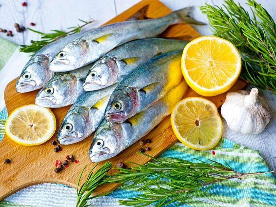 Tuore kala on elävän värinen