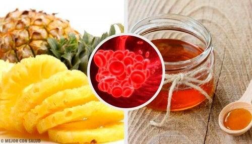 Ruokia, jotka ehkäisevät veren hyytymistä