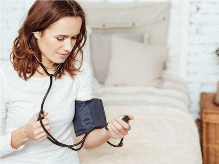 verenpaineen mittaus