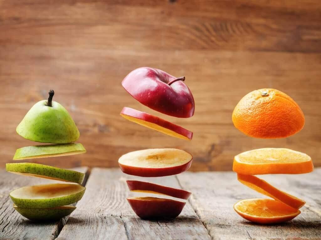 tanssivat hedelmät