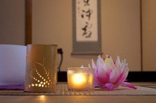 Japanilainen sisustus auttaa ylläpitämään kodin siisteyttä ja järjestystä.