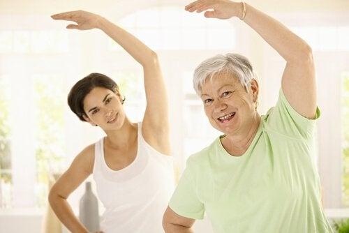 Ikääntymisestä johtuvan painonnousun ehkäisy liikunnalla