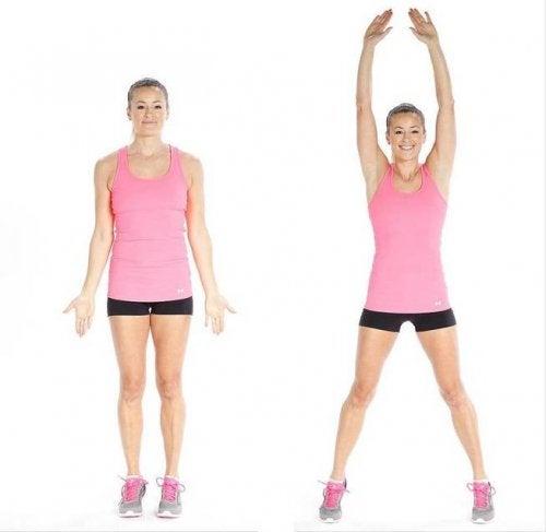 Saksihypyt auttavat saamaan samalla sekä vahvemmat jalkalihakset, että tehostavat aineenvaihduntaa ja rasvanpolttoa