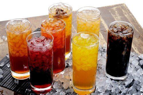 karsinogeeniset ruoat: virvoitusjuomat