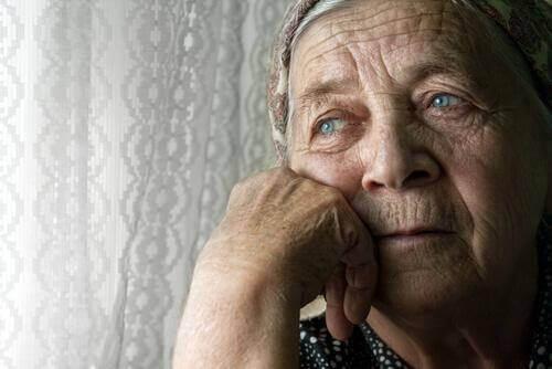 Yksinäinen dementiapotilas