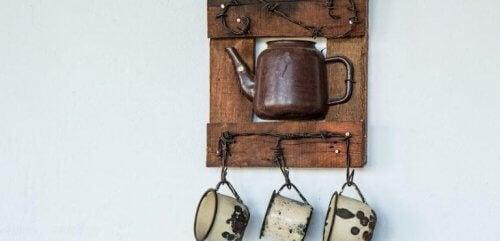 Tee itse esineitä keittiöösi kierrättämällä vanhoja tavaroita