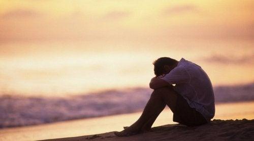 mies on masentunut ja ei halua tehdä töitä