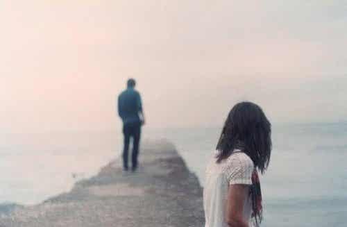 Kun kumppani haluaa päättää suhteen, mutta sinä et