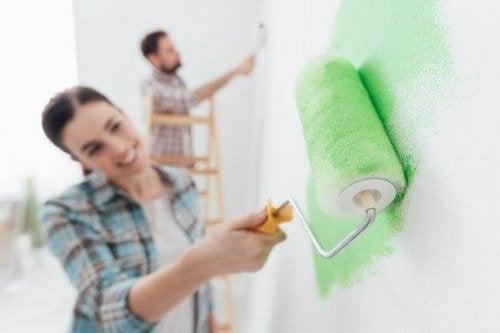 Seinien maalaus: vältä nämä virheet