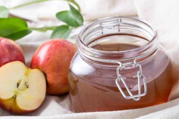 Omenaviinietikka poskiontelotulehduksen hoitoon