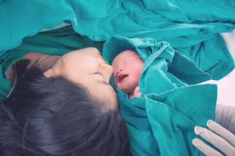 vauva on syntynyt
