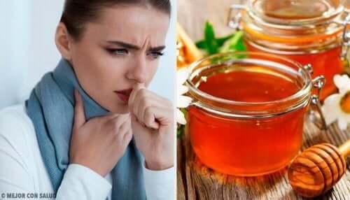 Kipeän kurkun hoito hunajalla luonnollisesti