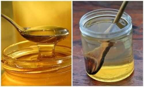 Kipeän kurkun hoito lämpimällä vedellä ja hunajalla
