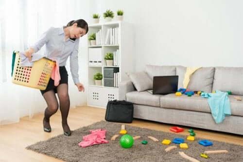 Mitä tehdä, kun kumppani ei auta kotitöissä?