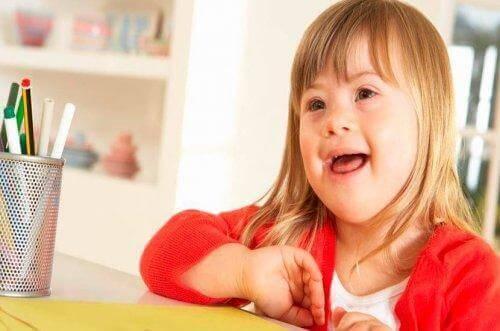 Downin syndrooma: lapsen kasvattaminen