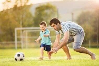 jalkapallo on hauskaa liikuntaa lapsille