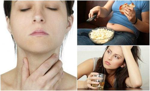 Nämä asiat vaikuttavat kilpirauhasen terveyteen huomaamattasi
