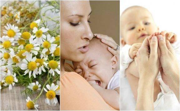 Vauvan koliikki: 5 luonnollista hoitoa