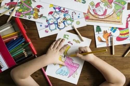 Piirtämisen hyödyt lapsilla