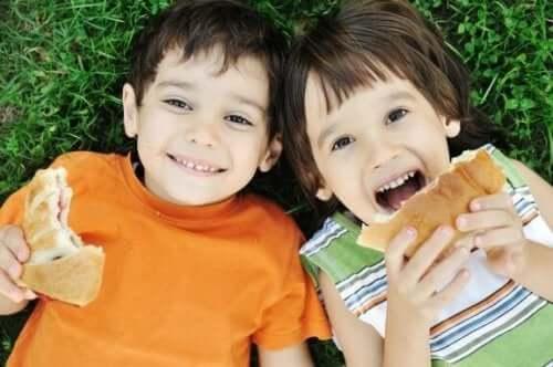 Vanhempien tekemiä virheitä lasten ravitsemuksessa