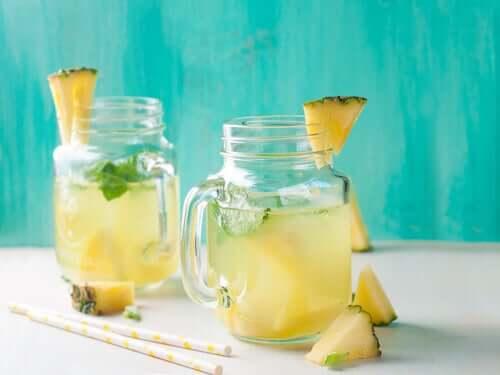 Ananas on yksi luonnon tehokkaimmista diureeteista