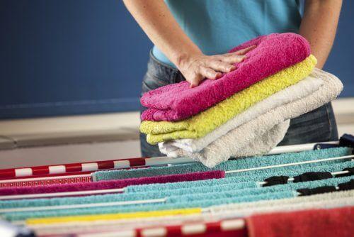 Myös pyyhkeiden pesuun kannattaa kiinnittää huomiota