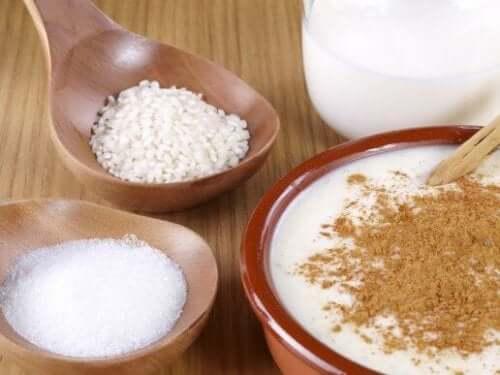 Helppo, herkullinen ja ravitseva riisivanukas
