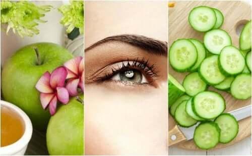 5 luontaista keinoa roikkuvien silmäluomien kohottamiseen