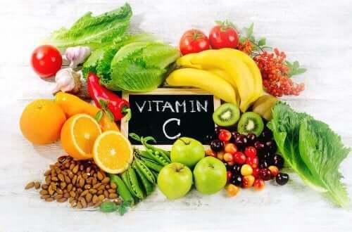 c-vitamiinia raudanpuutteeseen
