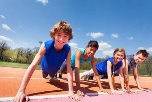 urheilusta ylikuormittuneet lapset