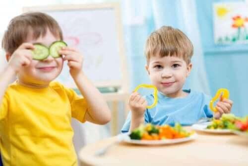 vihanneksia lapsen ruokavalioon