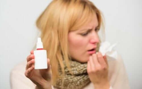 Nenän kautta otettavien lääkkeiden käyttö