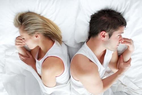6 syytä, miksi seksistä nauttiminen ei onnistu