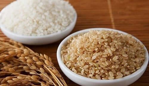 Riisi on tärkeä raaka-aine bibimbapissa