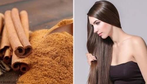 Näin saat täydelliset hiukset kanelin avulla