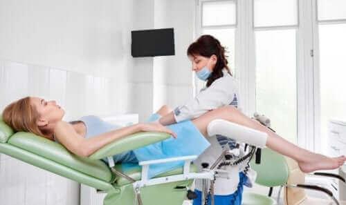 Gynekologilla käynti